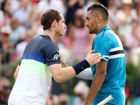 Nick Kyrgios reveals what Andy Murray said to him after Queen's defeat
