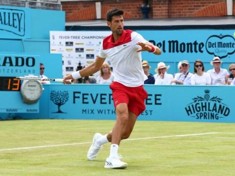 Novak Djokovic issues perfect response to Grigor Dimitrov to reach Queen's quarter-finals