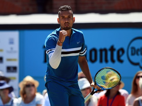 Nick Kyrgios takes out defending Queen's champ Feliciano Lopez to set up Marin Cilic semi-final