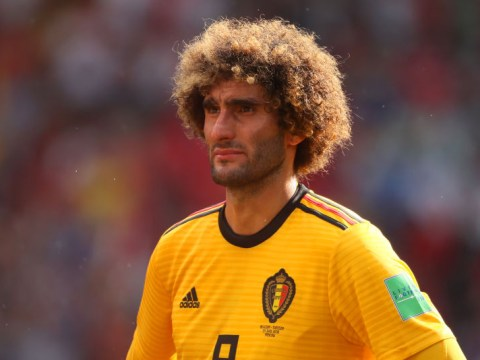 Marouane Fellaini set to sign new two-year deal with Manchester United
