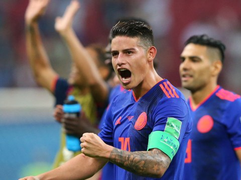 Colombia star James Rodriguez set to face England after positive scan result