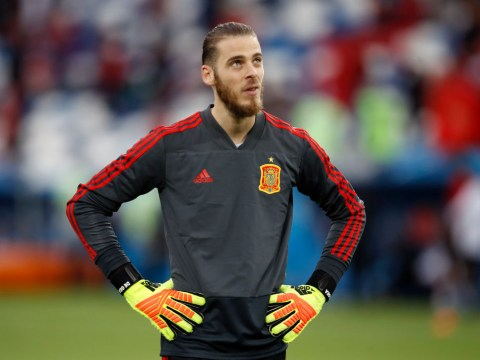 Manchester United star David de Gea facing the axe for Spain's World Cup showdown with Russia