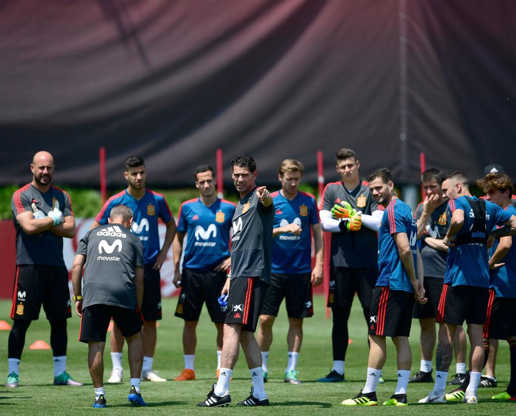 Fernando Hierro has already decided Spain's penalty takers ahead of Russia clash