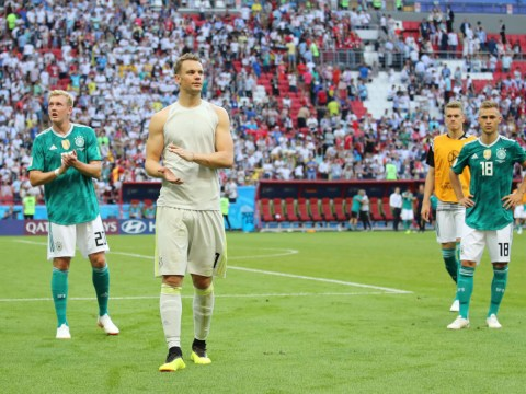 Manuel Neuer branded a 'disgrace' after Germany's shocking World Cup exit
