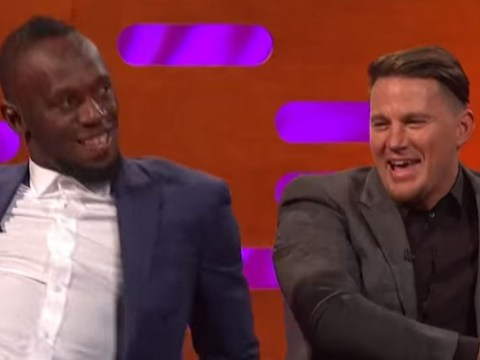 Usain Bolt and Channing Tatum bonding over Magic Mike moves is the new bromance this world needs