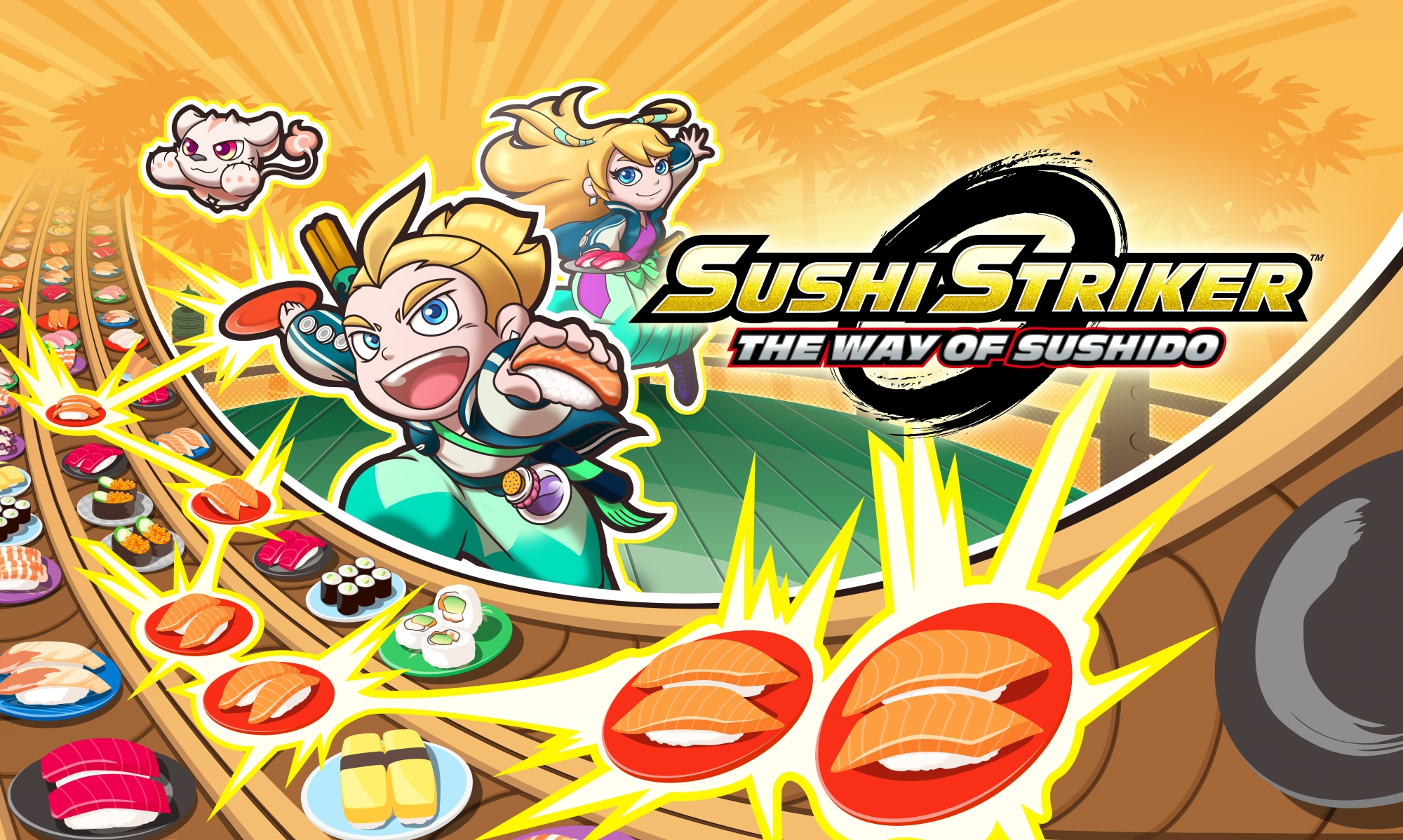 Sushi Striker review – kaiten crush saga