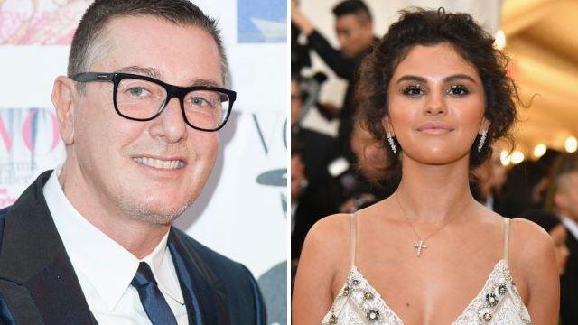 Stefano Gabbana and Selena Gomez