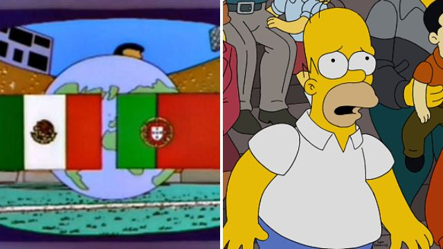 Has The Simpsons predicted the World Cup final?