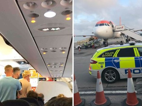 Stag party escorted off plane after 'urinating on the floor and abusing staff'