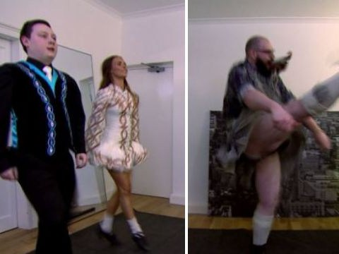 Come Dine With Me goes Irish as contestant shows off his best jig