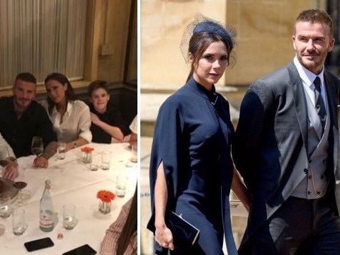 David and Victoria Beckham put on a united front after squashing divorce rumours