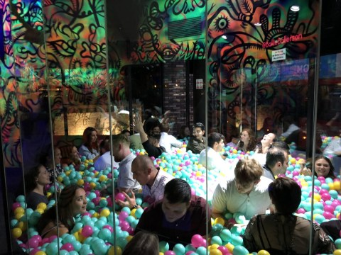 Can you find love at the bottom of a ball pit? I tried ball pit speed-dating to find out