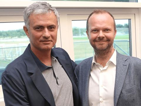 Jose Mourinho tells Ed Woodward he wants Toni Kroos to partner Paul Pogba at Manchester United