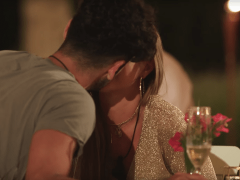 Niall Aslam and Georgia Steel waste no time and kiss in Love Island