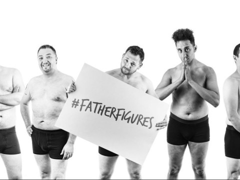 Dads are posing naked to raise awareness of fathers' mental health