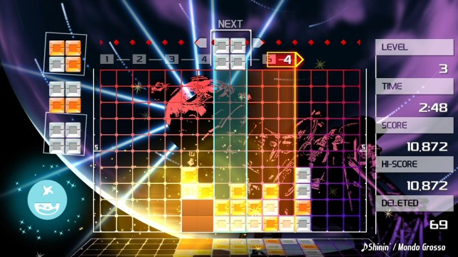 Lumines Remastered (PS4) - screenshots don't do it justice