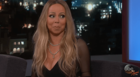 Mariah Carey takes her diva-ship to new heights as she admits she swims with her clothes on