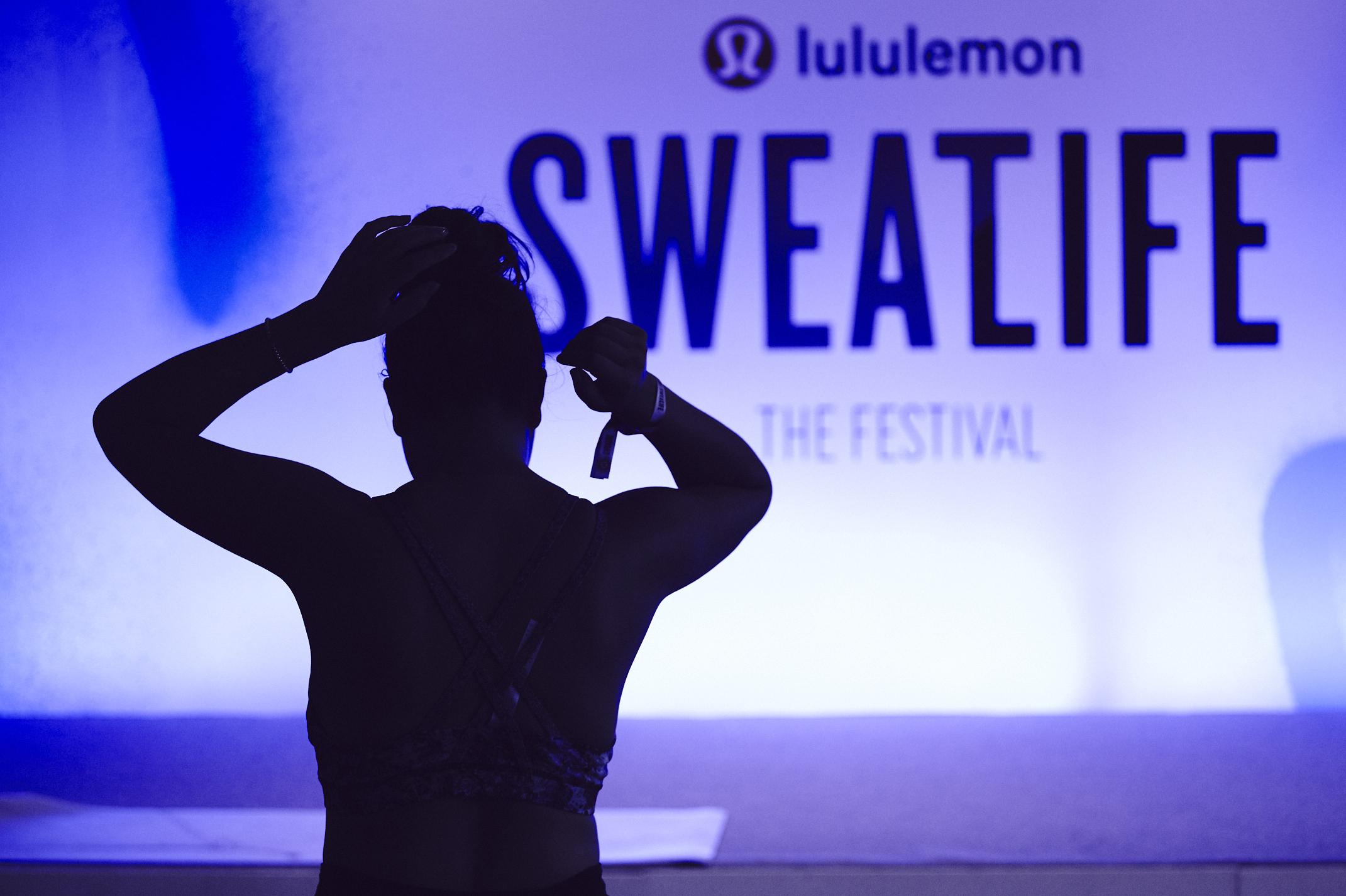 Lululemon's Sweatlife fitness festival