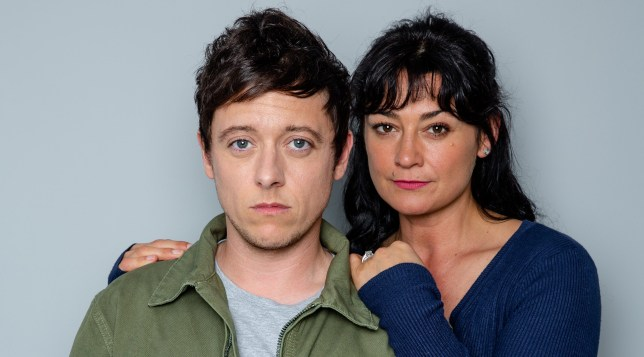 Moira and Matty in Emmerdale