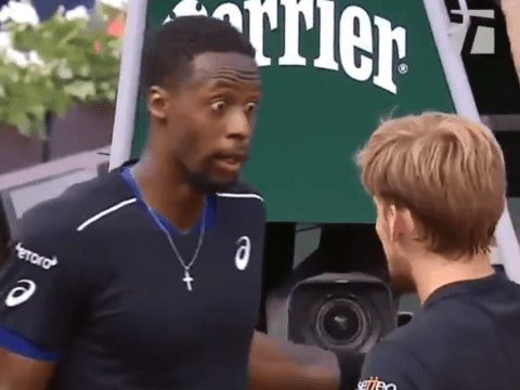 Gael Monfils explains David Goffin row during French Open loss