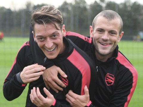 Mesut Ozil sends message to Jack Wilshere as he prepares to take his No 10 shirt
