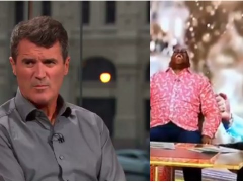 Roy Keane delivers brutal reality check to giddy England fans Gary Neville and Ian Wright