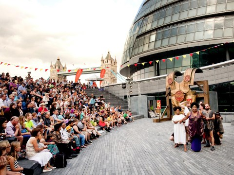 The best free open air theatre in London on during summer 2018