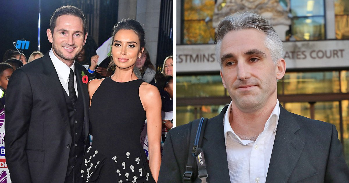 Christine Lampard reveals Hell stalker put her through - court appearance today sentencing monday