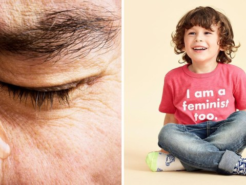 Grumpy people really don't like this J.Crew feminist tee for boys