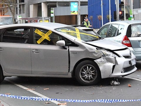 Young children among five hurt as 'Uber driver crashes into people' in Australia