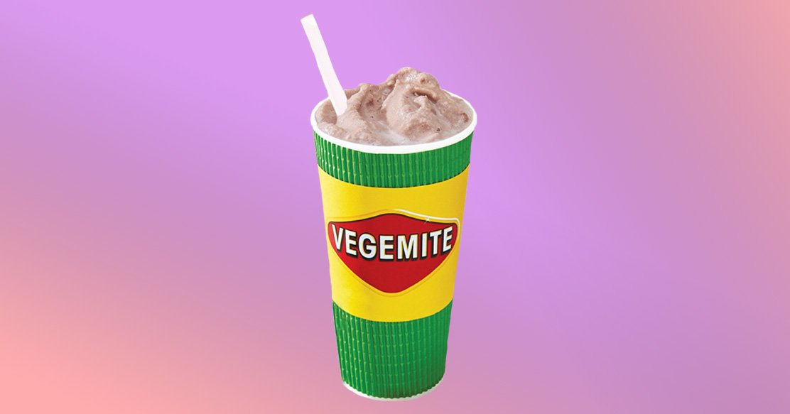 Vegemite Boost smoothie
