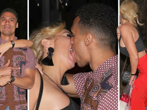 Aisleyne Horgan-Wallace and Rykard Jenkins get it on at Love Island bash