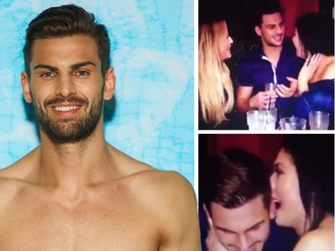 Love Island's Adam DID appear on Geordie Shore, snogging Charlotte and Chloe at same time