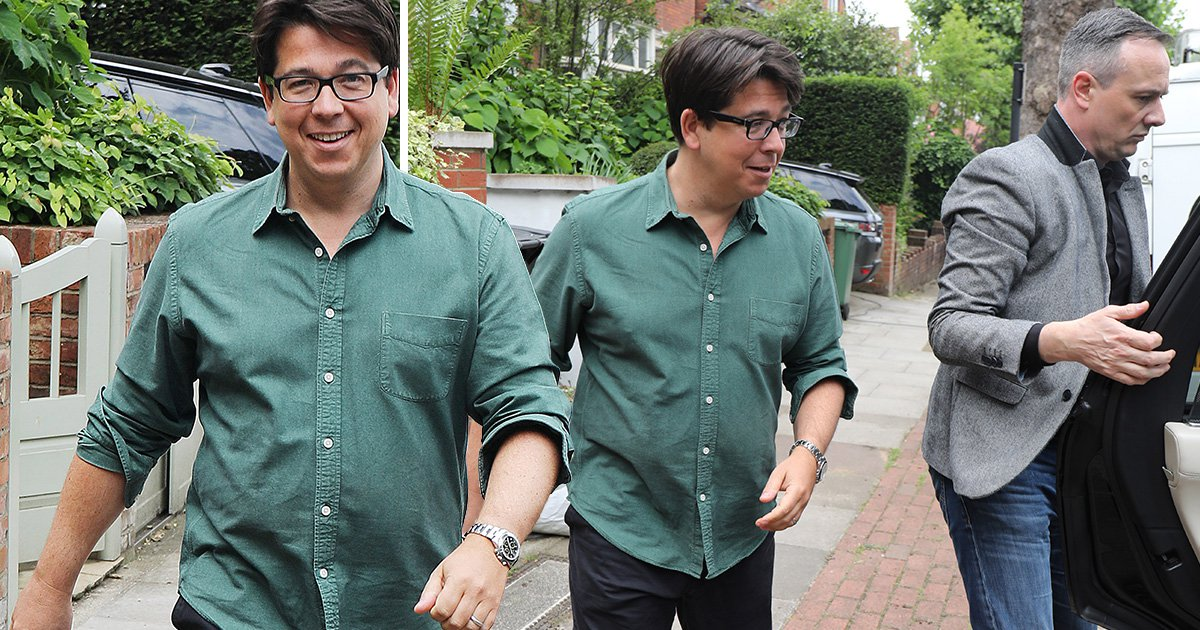 Michael McIntyre shows off new watch as he jokes about moving to Dublin following robbery: 'F**k London'