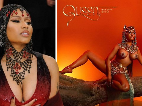 Nicki Minaj somehow makes nipple pasties regal as she reveals artwork for new album Queen