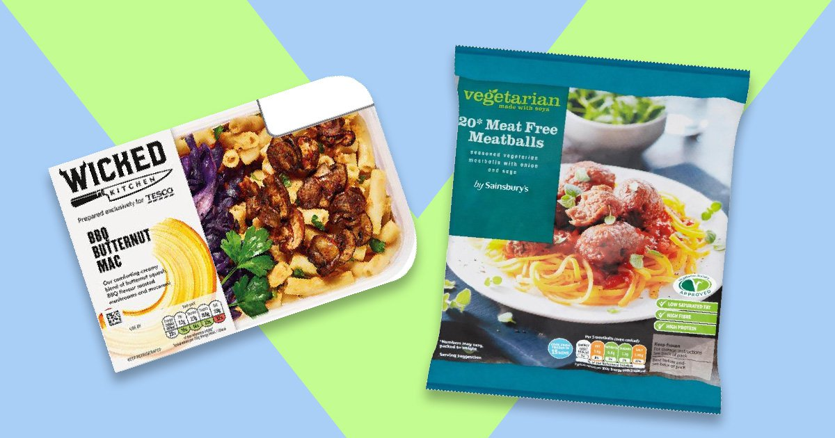Turkey and pork 'found in vegan and veggie meals at Tesco and Sainsbury's'