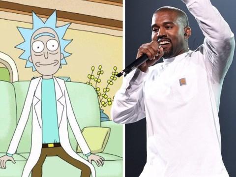 Kim Kardashian shares Rick And Morty birthday song for Kanye West