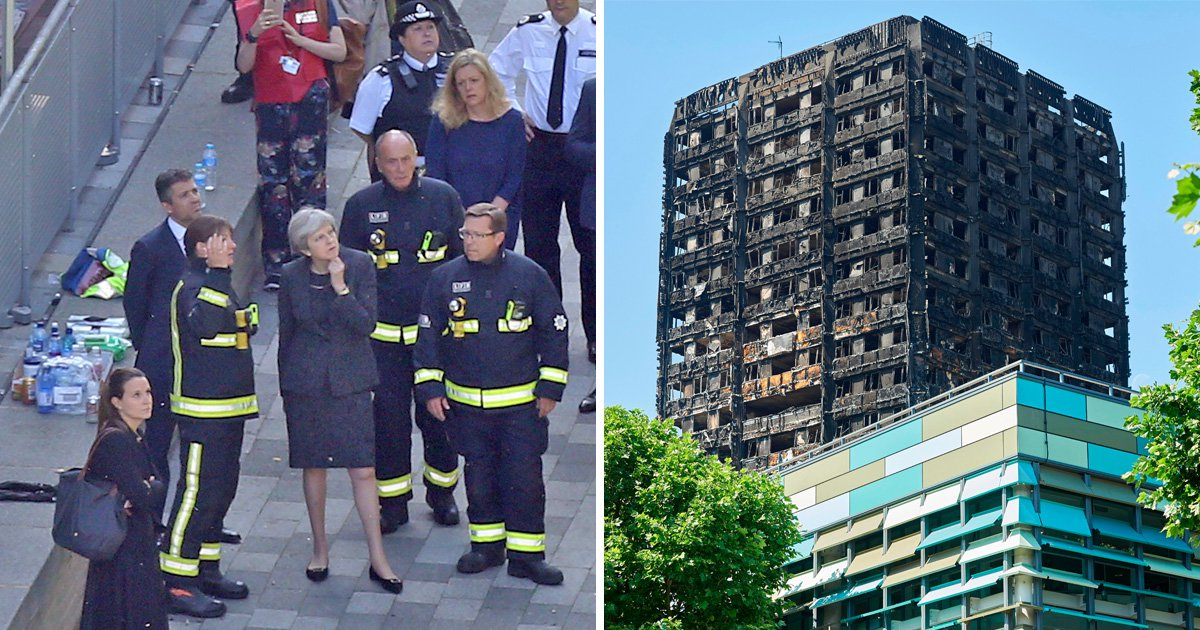 Theresa May says she will 'always regret' her response to Grenfell Tower fire
