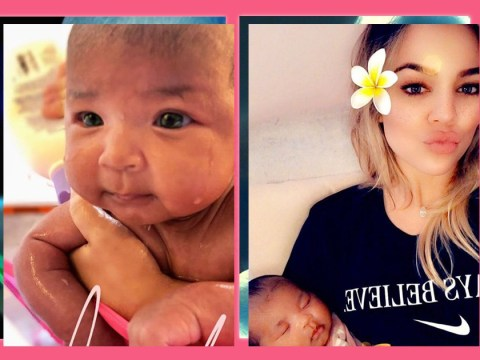 Khloe Kardashian is finding motherhood 'amazing' but still has a baby brain