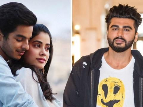 Arjun Kapoor is full of praise for sister Janhvi's Bollywood debut in Dhadak trailer