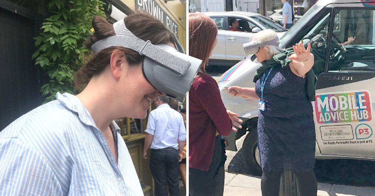 NHS hopes virtual reality will help Grenfell victims' mental trauma