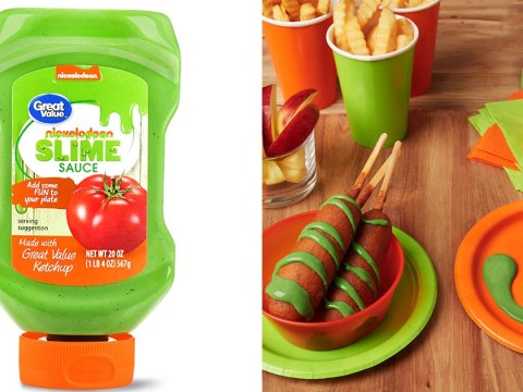 Nickelodeon launches 'slime sauce' green ketchup for your chips