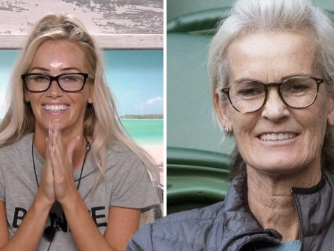 Judy Murray is the doppelganger of Love Island's Laura Anderson