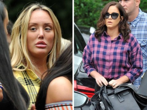 Vicky Pattison and Charlotte Crosby pay tribute to 'Mr Newcastle' Paul Burns at colourful funeral