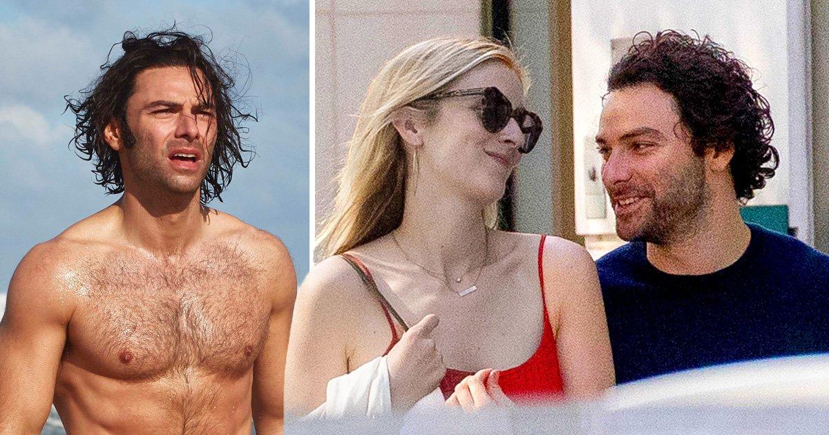 Poldark's Aidan Turner breaks hearts as he whisks new girlfriend to Paris