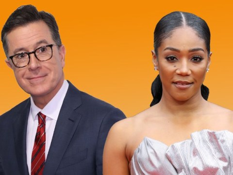 Leonardo DiCaprio misses his chance with Tiffany Haddish as she's now crushing on Stephen Colbert