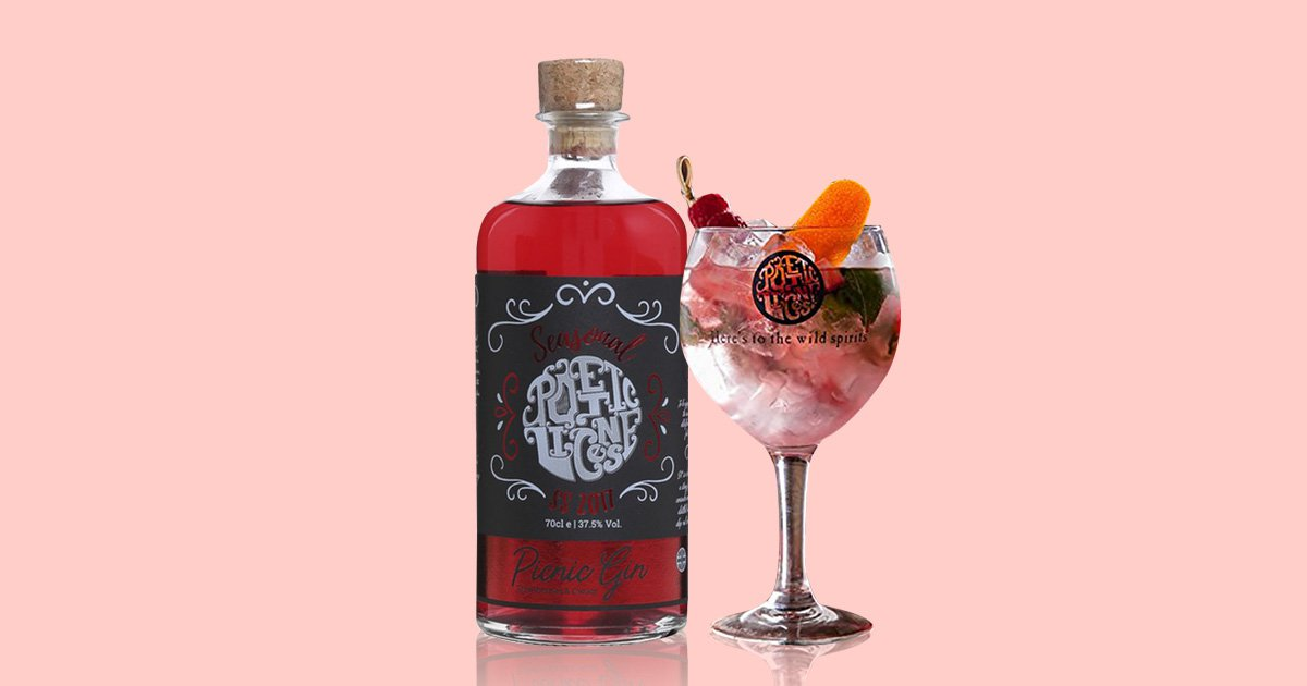 Strawberries and cream gin will make the perfect summer cocktail