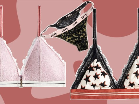 H&M is launching a snazzy lingerie collaboration