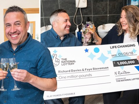 Lottery winner's car breaks down on the way to collect his £1m