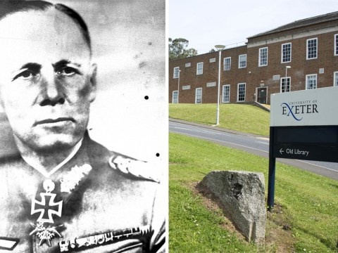 Exeter University sends students 'motivational quote' from Nazi general